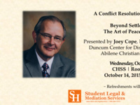"""Beyond Settlement: The Art of Peacebuilding"""