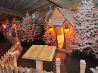 Christmas in Dairyville Storybook Lane at Alpenrose Dairy