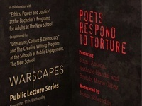Warscapes Public Lecture Series: Poetic Responses to Torture