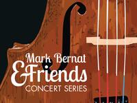Brentano String Quartet and Guest Bassist Mark Bernat