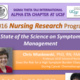 2016 Nursing Research Program: State of the Science on Symptom Management