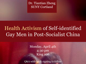 ​Health Activism of Self-identified Gay Men in Post-Socialist China