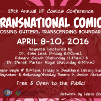 Uf Calendar Of Events.2016 Uf Conference On Comics And Graphic Novels Transnational
