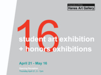 2016 Student Art Exhibition