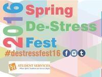 Spring 2016 De-Stress Fest