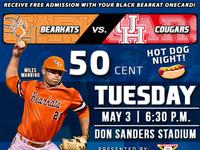 .50¢ Hot Dog Night Returns to Baseball