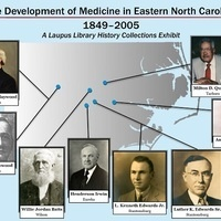 The Development of Medicine in Eastern North Carolina: 1849-2005