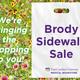 Brody Sidewalk Sale