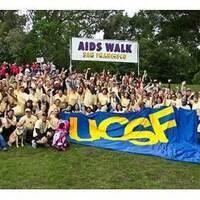 AIDS Walk Registration and Conversation with Epidemic Survivors
