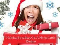 Holiday Spending On A Merry Little Budget
