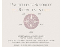 Panhellenic Sorority Recruitment