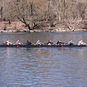 Colgate University Women's Rowing at  Holy Cross