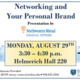 Networking & Your Personal Brand Workshop