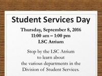 Student Services Day