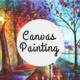 Cardinal & Gold: Canvas Painting