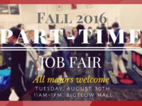 UofL Career Development Center Part-time Job Fair
