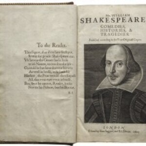 """The Millionaire and the Bard: Henry Folger's Obsessive Hunt for Shakespeare's First Folio"" Lecture"