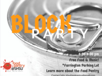 Food Pantry Block Party