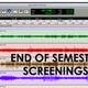 End of Semester Screenings | Film II