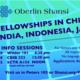 Shansi Fellowship Information Session