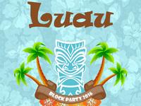 Luau Block Party