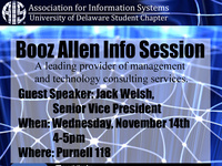 Booz Allen Info Session