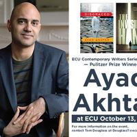 Pulitzer prize-winner Ayad Akhtar at ECU