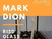 Mark Dion - Glass Dept Lecture