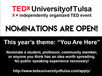 TEDx University of Tulsa Submissions