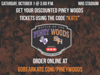Battle of the Piney Woods Tickets Still Available