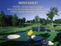 Alpha Phi Omega: Mini- Golf