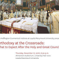 """Orthodoxy at the Crossroads: What to Expect After the Holy and Great Council"""