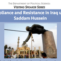 Compliance and Resistance in Iraq under Saddam Hussein