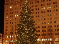 Holiday Tree Lighting Ceremony at Pioneer Courthouse Square