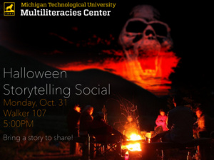 Halloween Scary Story Social