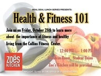 Real Deal Lunch Series: Health & Fitness 101