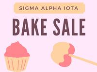 Sigma Alpha Iota Bake Sale
