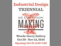 Industrial Design Departmental Exhibition opening reception