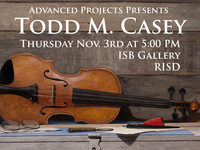 Advanced Projects Presents: Todd M. Casey
