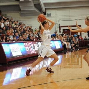 Colgate University Women's Basketball at American