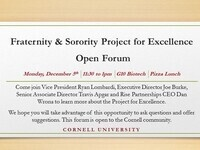 Fraternity & Sorority Project for Excellence Open Forum