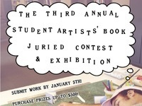3rd Annual Student Artists' Book Juried Contest and Exhibition