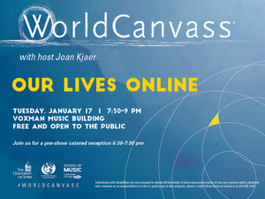 WorldCanvass: Our Lives Online