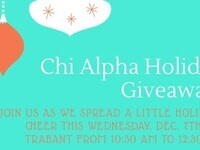 Chi Alpha Christmas Giveaway