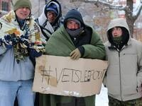 24 Hour Veteran Sleepout