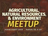Agricultural, Natural Resources & Environment Meetup