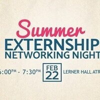 2017 Summer Externship Networking Night