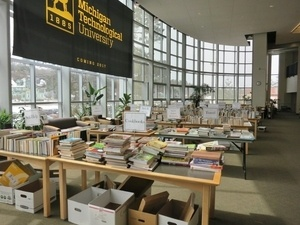 Friends of the Michigan Tech Library Book Sale