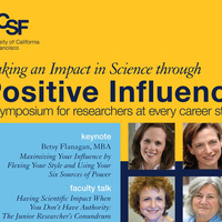 Making an Impact in Science Through Positive Influence