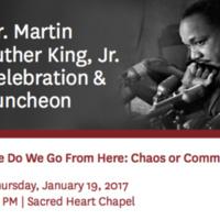 Dr. Martin Luther King, Jr. Celebration & Luncheon